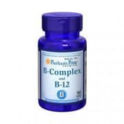 Vitamina Complexo-B + Vitamina B-12 Puritan