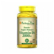 Vitamina D-3 2000 IU (Mastigável) Puritan